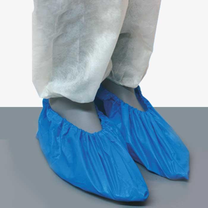 Cubrezapatos Polietileno Azul. REF.DF01BB