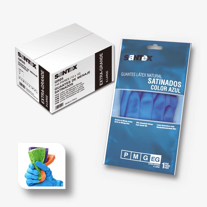 Santex Acetinadas Látex Azul REF. GR05