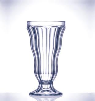 Copa resistente de policarbonato para postres