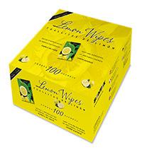 Toallitas de limón húmedas pack 100