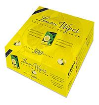 Toallitas húmedas de limón