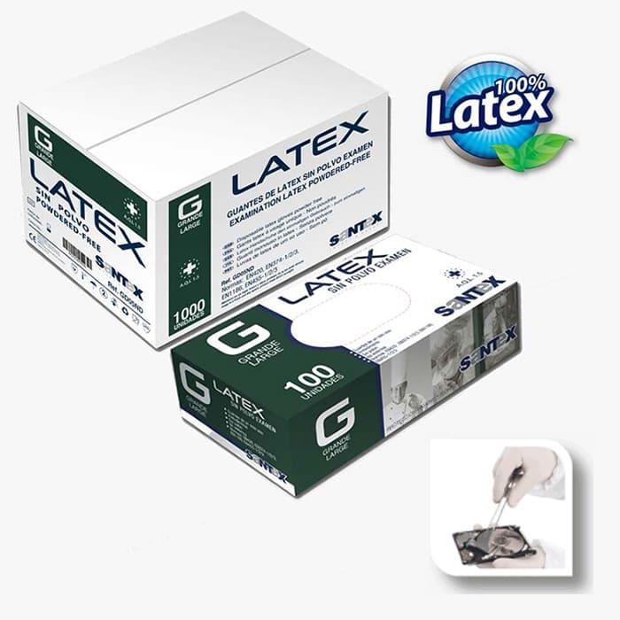 Powder Free Latex</br>SANTEX</br> Ref. GD05