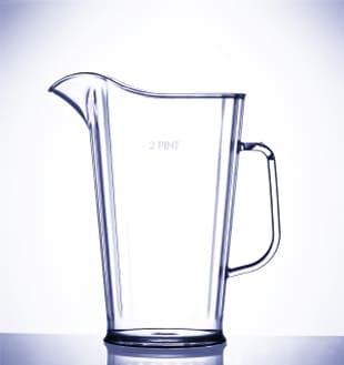 jarra de policarbonato de 1 litro línea milán