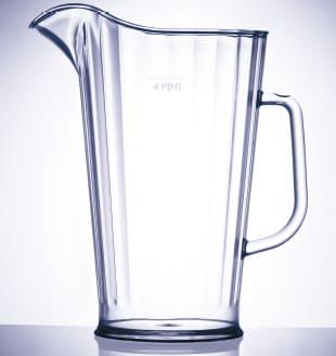 jarra de policarbonato de 2 litros línea milán