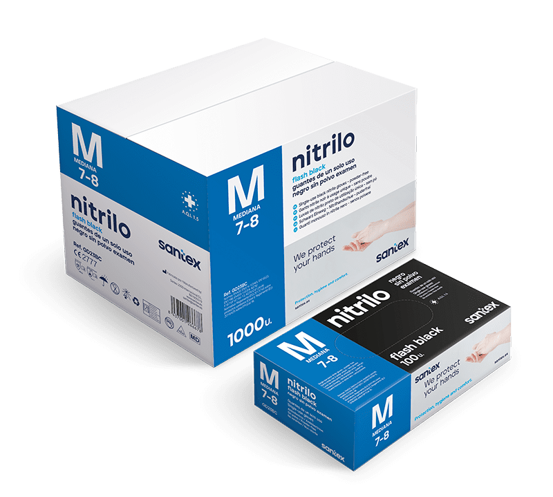 Guantes de nitrilo GD23