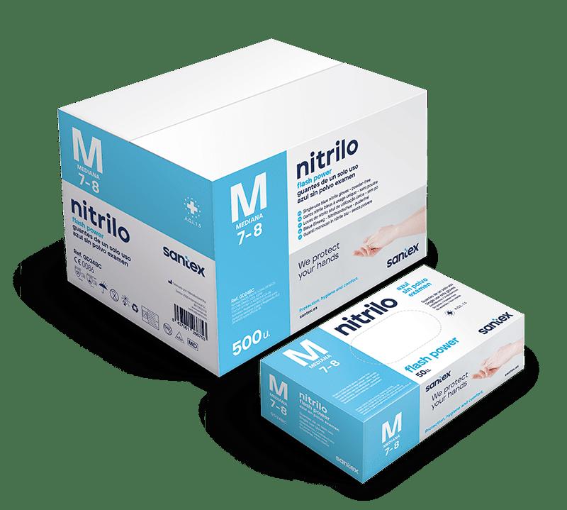 Guantes de nitrilo GD24